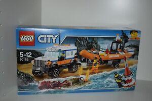 LEGO City 60165 Geländewagen mit Rettungsboot NEU! passt zu 60167,60164,60166