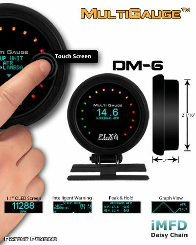 FREE 2-DAY PRIORITY SHIPPING PLX Devices DM-6 TOUCH Gauge-