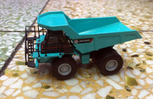 1/87 Scale DieCast Metal Model Construction vehicles Off-Highway Truck Blue