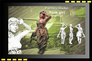 ARM-resin-model-figure-1-16-American-Tank-Girl-1-Fantasy-model