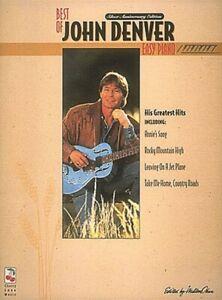 The Best of John Denver Sheet Music Easy Piano Book NEW 002505512