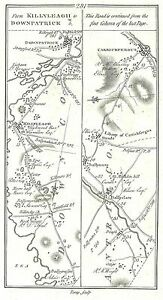 Antique-map-Roads-from-Belfast-to-Killyleagh-and-Downpatrick-2