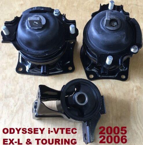 3pcSet Motor Mounts fit Honda Odyssey 2005 2006 i-VTEC EXL Touring FWD AWD