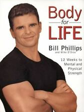 BODY FOR LIFE by Bill Phillips FREE USA SHIPPING Hardcover 12 Weeks to Strength