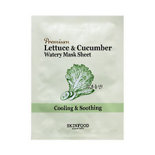 SKINFOOD Premium Lettuce & Cucumber Watery Mask Sheet Samples - 2pcs