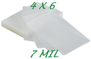 4 x 6 10 pk 3 Mil Laminating Pouches Laminator Sheets 4-1//4 x 6-1//4 Video Card