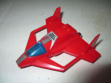 "1982 Vehicle Voltron Force Dairugger 4"" Red Falcon Jet Chest Piece Part Japan"