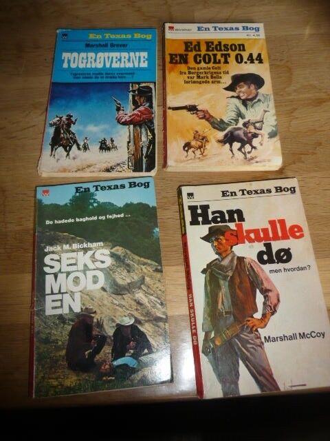En texas bog, Ed Edson - Marshall Grover, genre: krimi og