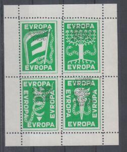Europe-Cept-Slovenie-Vignettes-Bloc-Cendrillon-MNH