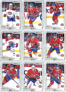 2018-19-O-Pee-Chee-Hockey-Montreal-Canadiens-Team-Set-of-15-Cards