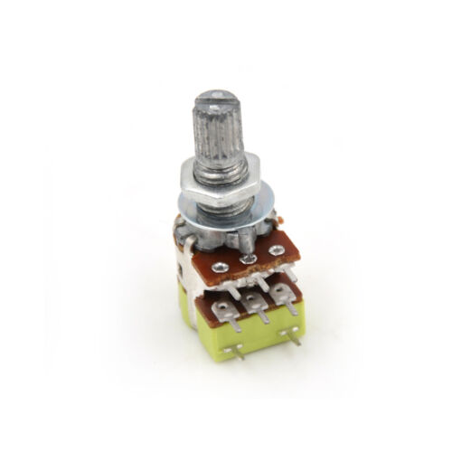 B50K 50K Ohm Dual Linear Taper Volume Control Switches Potentiometer Switch ODLH