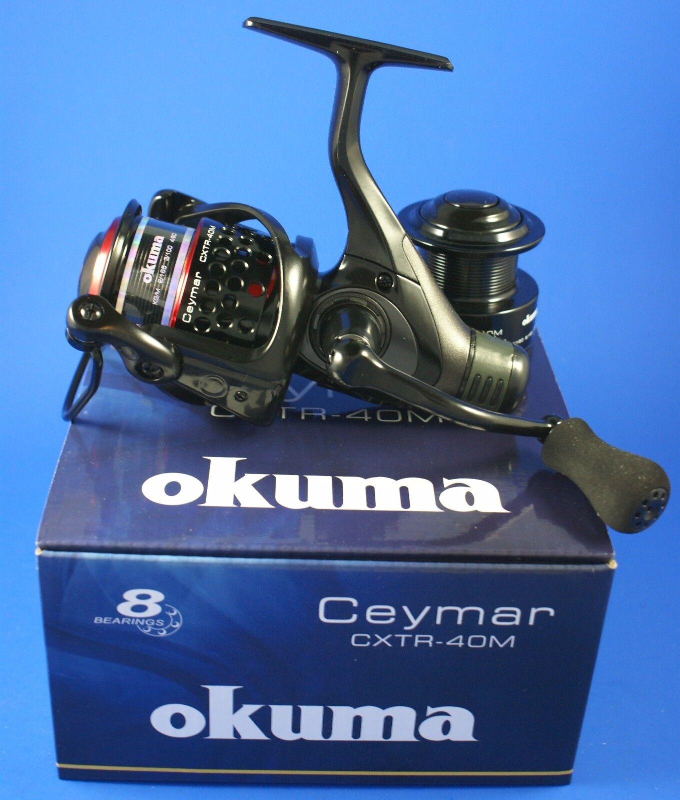 Okuma Ceymar XT Match CXTR-40M RD 7+1BB 6.2 1 54283 Rear Drag Fishing Reel