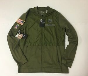 Nike Chicago Bears 2018 Salute to Service Hybrid Jacket Mens Small ... 94a35d7be