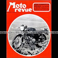 MOTO REVUE N°2038 BOL D'OR  TRIUMPH 650 BONNEVILLE DRESDA SIDE HUSQY-PIRON 1971