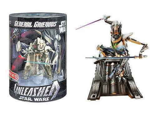 NEW STAR WARS REVENGE OF THE SITH GENERAL GRIEVOUS UNLEASHED TARGET EXCLUSIVE