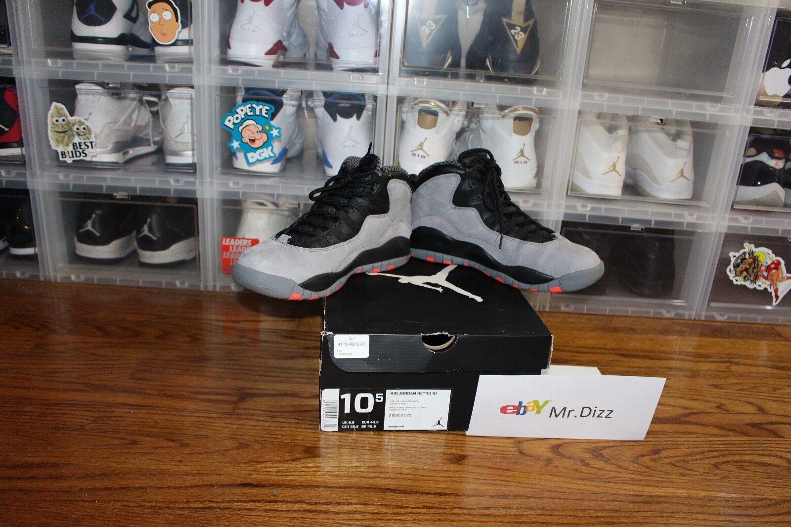 Jordan 10 Cool Grey VNDS Sz. 10.5