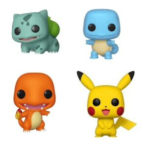 FUNKO-POP-POKEMON-PIKACHU-BULBASAUR-CHARMANDER-FIGURINE-VINYLE
