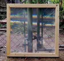 """37"""" SPOT FRESNEL LENS 24"""" X 24"""" framed dimensions CLEAR SPOT"""
