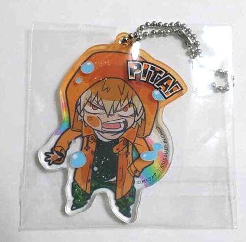 My Hero Academia Pita Deformed Acrylic Keychain Katsuki Bakugo UA Strap Raincoat