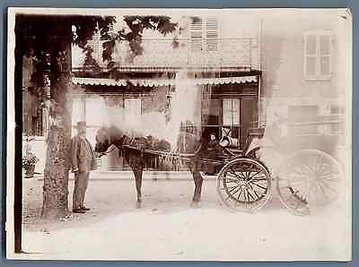 France, Région De Lyon Vintage Citrate Print. Tirage Citrate 13x18 Circa Complete Reeks Artikelen