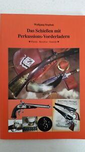 Stephan-Das-Schiessen-mit-Perkussions-Vorderladern-Langwaffen-Gewehr-Waffen
