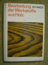 Holzbearbeitung - Holz Hobel Fräsmaschine Beschichten Furnieren DDR Fachbuch