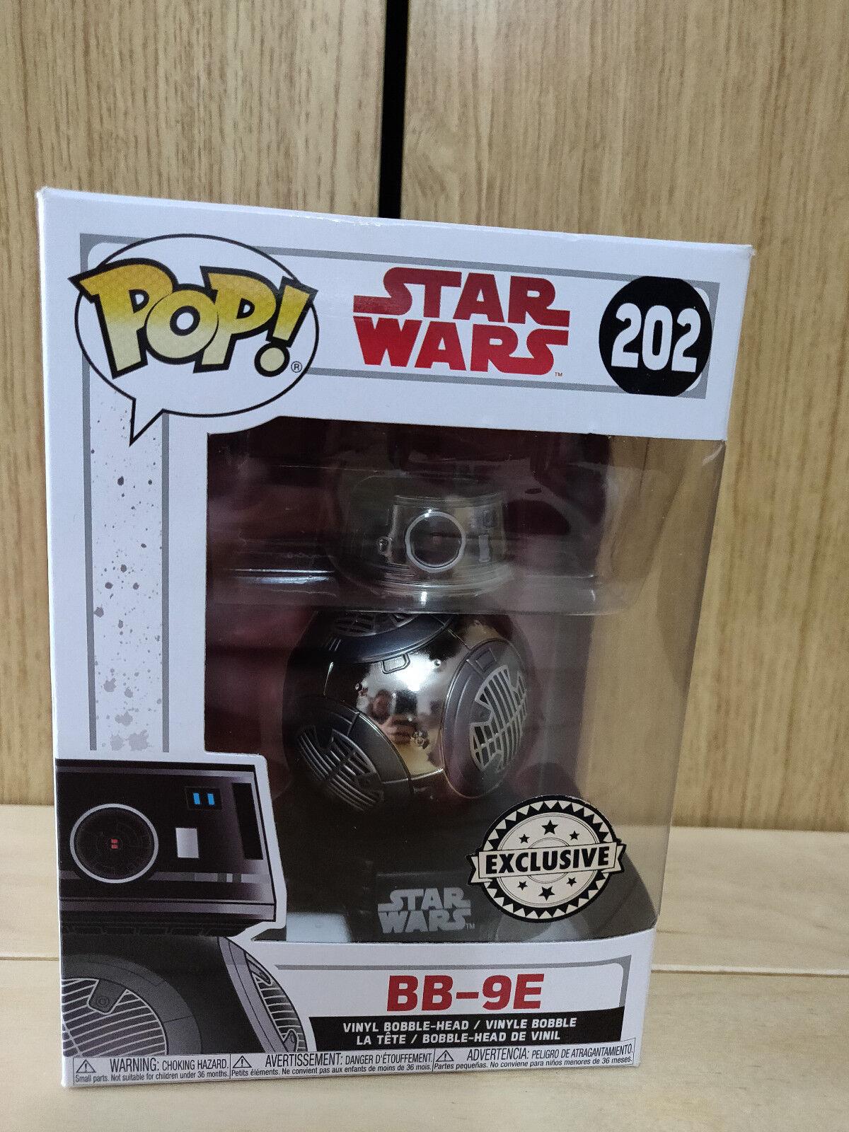 FUNKO POP STAR WARS BB-9E  202 EXCLUSIVE