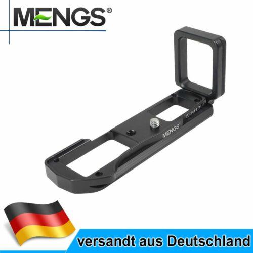 MENGS E-M10 III L Bracket Schnellwechselplatte Für Olympus OM-D E-M10 III Kamera