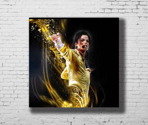 Hot Michael Jackson Music Singer 12x12 24x24 27x27 Fabric Poster E-346