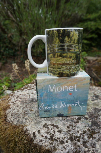 RE0398   CHOPE  TASSE  MUG  MONET GIVERNY  LE PONT JAPONAIS  CERAMIQUE 1 SUR 4