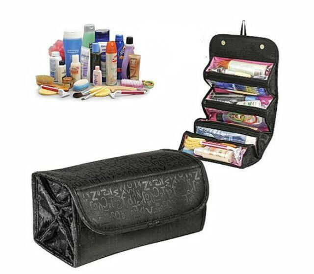 BUAU Multifunction Travel Cosmetic Bag Makeup Case Pouch Toiletry Zip Wash