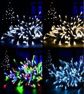 Multi-Action-LED-Xmas-Christmas-Tree-Fairy-Lights-Party-Wedding-String-Lights