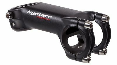 "New Syntace Force 109 F109 31.8mm Clamp 1-1//8/"" Steerer 75mm Length Stem Black"