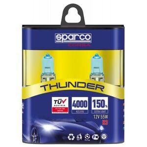 COPPIA-LAMPADE-MODELLO-H3-SPARCO-THUNDER-4000K-12V-55W-150-SPCB1202
