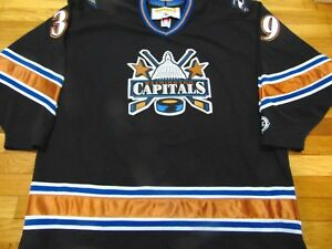 Image is loading VINTAGE-KOHO-NHL-WASHINGTON-CAPITALS-BLACK-39-JERSEY- 96f706e30