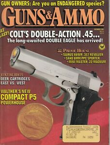 Guns-amp-Ammo-Magazine-Dec-1989-Handguns-Rifles-Shotguns-45-Colt