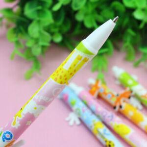 6pcs-Cartoon-Giraffe-Kids-0-5mm-Ballpoint-Ball-Pens-Students-Office-Stationary