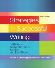 Strategies for Successful Writing: A Rhetoric Research Guide Reader and Handbook