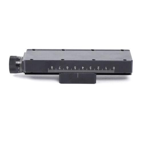 Screw Adjustment Translation Stage Slide Manual Displacement Linear Platform USA