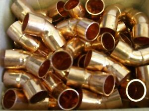 "1/2"" 45 Degree Copper Elbow ( Lot of 50)"