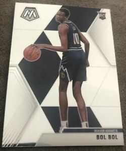 Bol-Bol-2019-20-Panini-Mosaic-Rookie-Card-RC-222-Nuggets-Next-Giannis