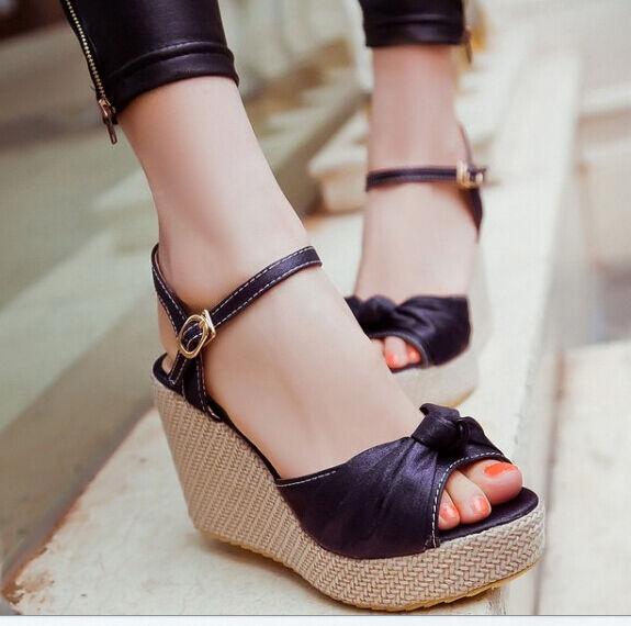 Sandali gioiello donna colore con zeppa 9 cm colore donna viola cod 8286 f77ae4