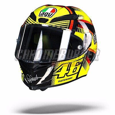 AGV GP Pista Soleluna Qatar Carbon Helmet Valentino Rossi NEW ! Free Shipping !