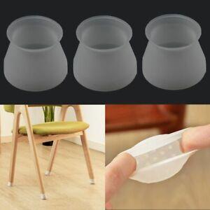 Details zu 4816PCS Möbel tisch füße abdeckung bodenschutz stuhl bein silikonkappen pad
