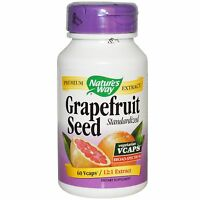 Grapefruit Pills Potent Seed Extract Diet Weight Loss Capsules Detox Supplement