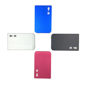 "blue New 320 GB external Portable 2.5/"" USB 2.0 hard Drive HDD POCKET SIZE"