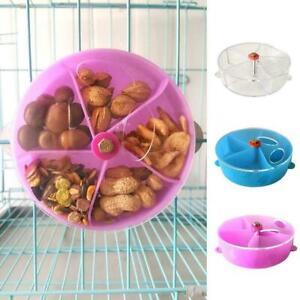 Pet-Puzzle-Feeding-Dispenser-Feeder-Parrot-Bite-Toy-Foo-Wheel-Foraging-Bird-G5A5