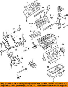 image is loading ford-oem-03-04-mustang-engine-cylinder-head-