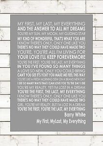 My first love song lyrics
