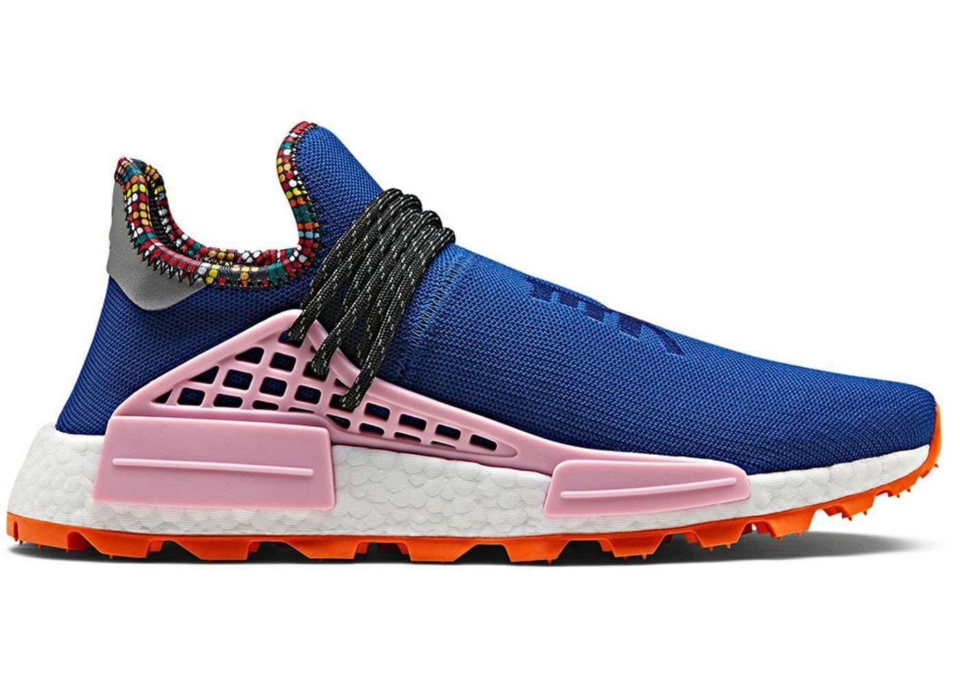 Adidas x Pharrell NMD Human Race Inspiration Pack bluee Light Pink orange EE7579